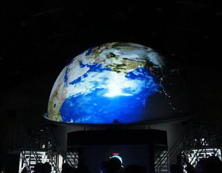 移動式宇宙体感シアター「Space ball」始動